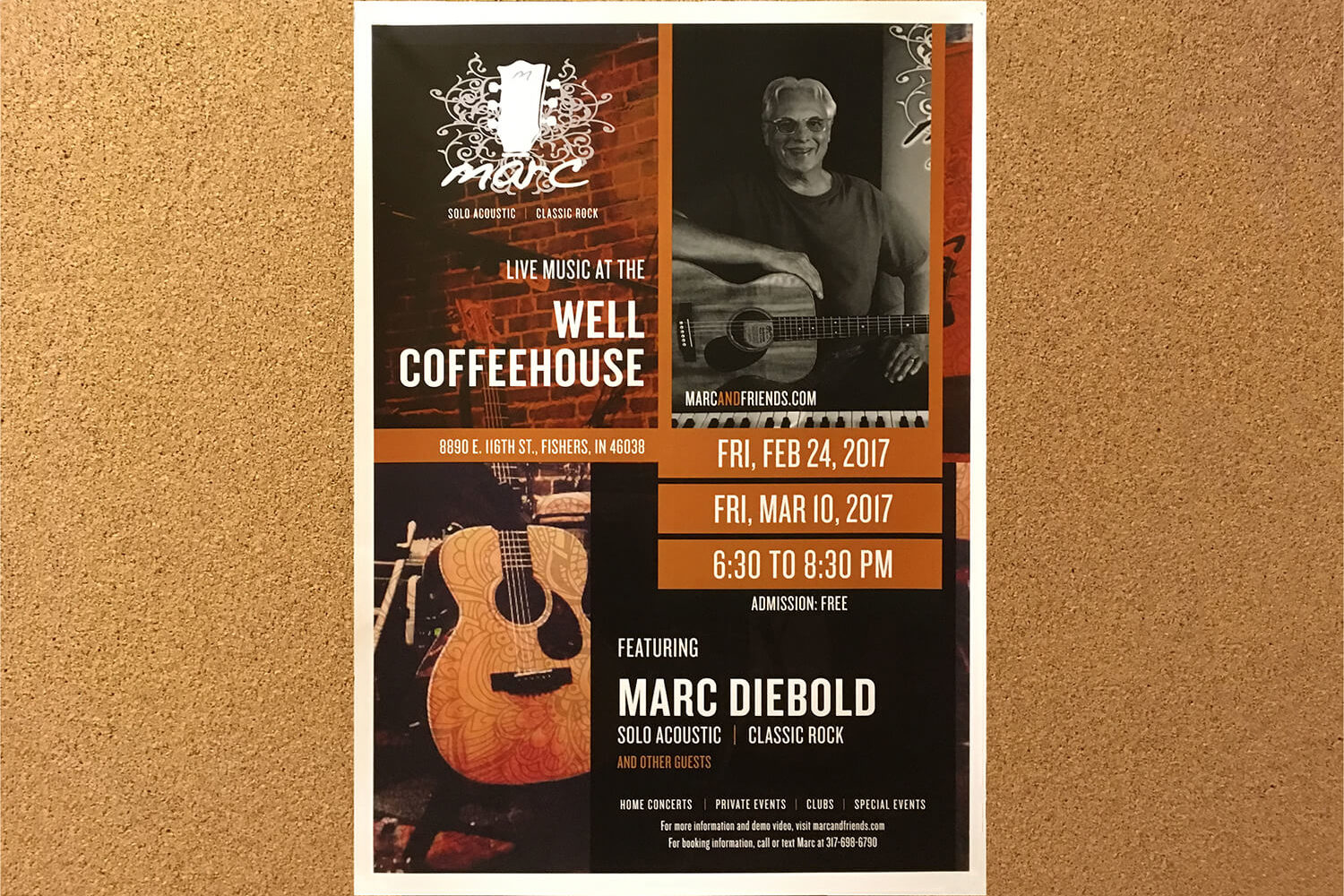 work-Well Coffeehouse Poster